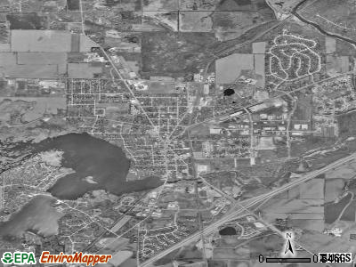 Mukwonago satellite photo by USGS