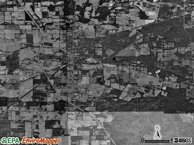 Alachua satellite photo by USGS