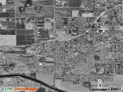 West Modesto satellite photo by USGS