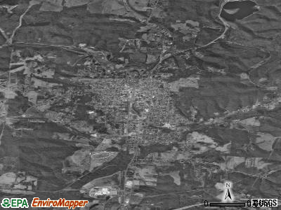 Wellston satellite photo by USGS