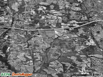 Woodmore satellite photo by USGS