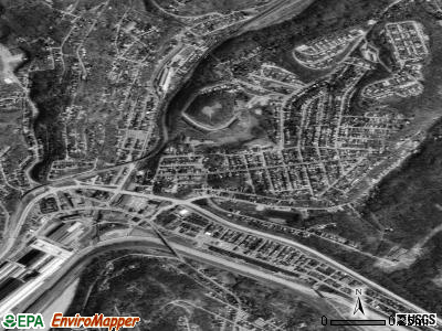 Turtle Creek satellite photo by USGS