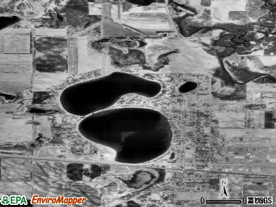 Big Lake satellite photo by USGS