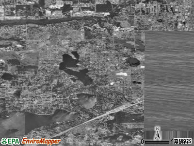 Lakewood satellite photo by USGS