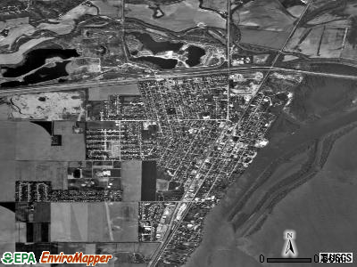 Chillicothe satellite photo by USGS