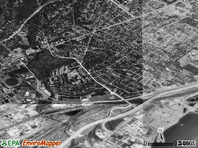 Edgemoor satellite photo by USGS