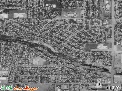 White City satellite photo by USGS