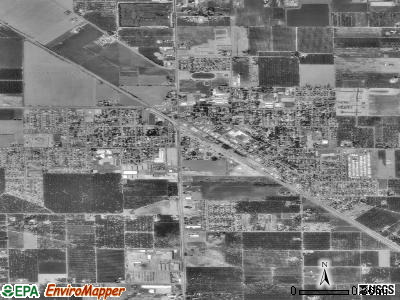 Escalon satellite photo by USGS