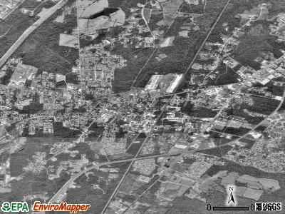 Moncks Corner satellite photo by USGS