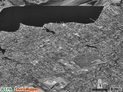 Fair Haven satellite photo by USGS