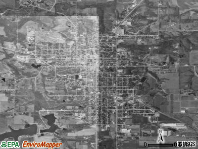 Centerville satellite photo by USGS