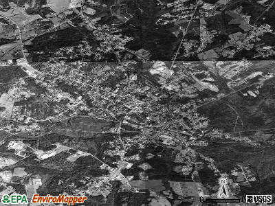 Abbeville satellite photo by USGS