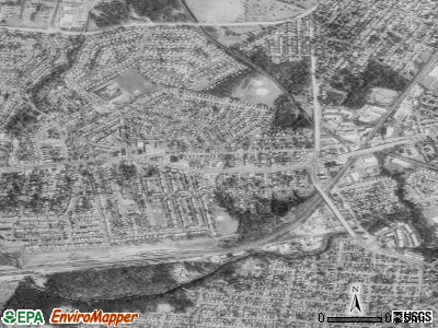Elsmere satellite photo by USGS