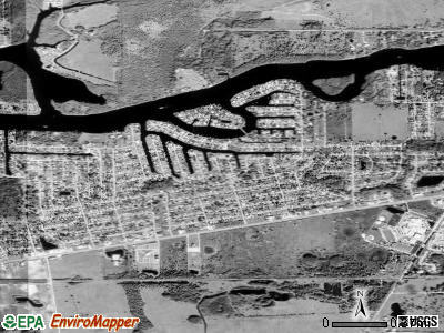 Fort Myers Shores satellite photo by USGS