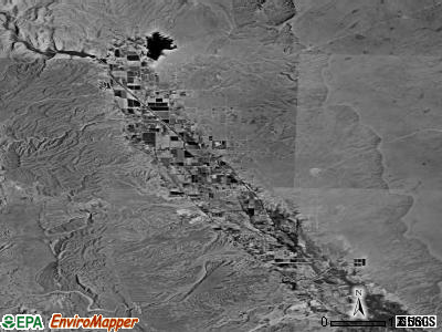 Moapa Valley satellite photo by USGS