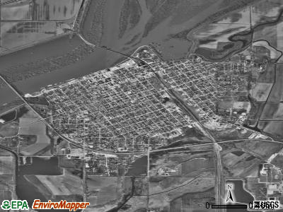 Beardstown satellite photo by USGS