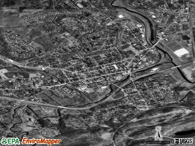 Stroudsburg satellite photo by USGS