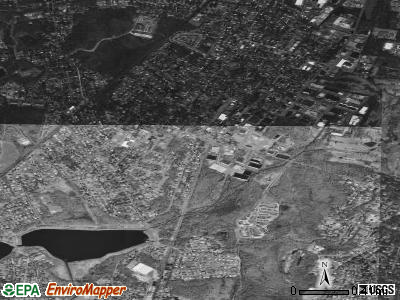 Norwood satellite photo by USGS