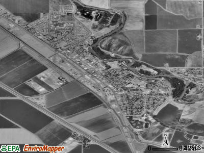 Firebaugh satellite photo by USGS