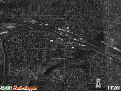 Fairport satellite photo by USGS