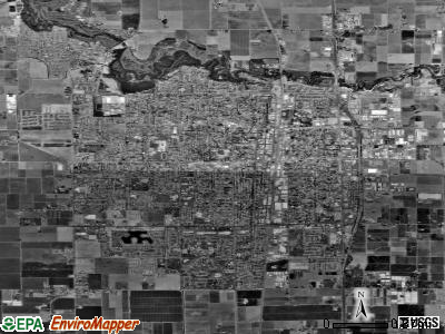Lodi satellite photo by USGS