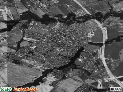 Smyrna satellite photo by USGS
