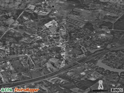 La Grange satellite photo by USGS