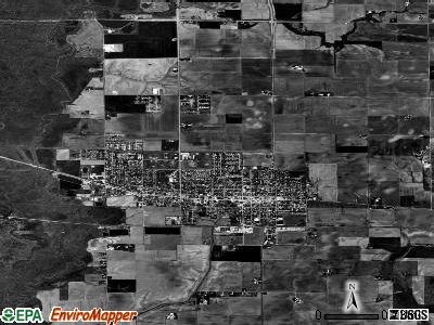 Mascoutah satellite photo by USGS