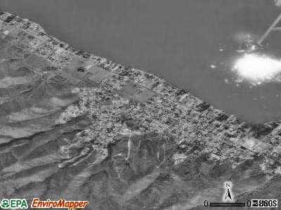 Lakeland Village satellite photo by USGS