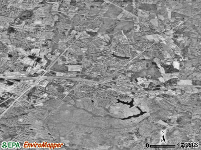 Reston satellite photo by USGS