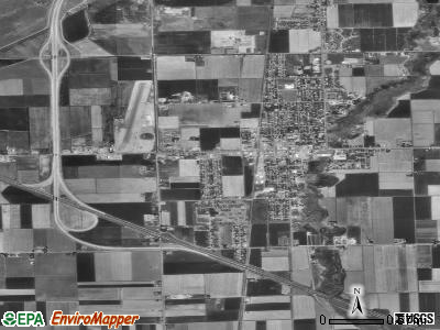Tremonton satellite photo by USGS