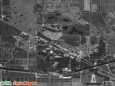 Indiantown satellite photo by USGS
