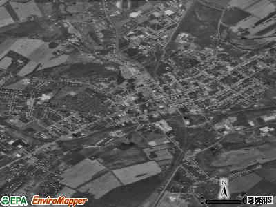 Shippensburg satellite photo by USGS