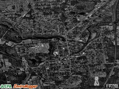 Ballston Spa satellite photo by USGS