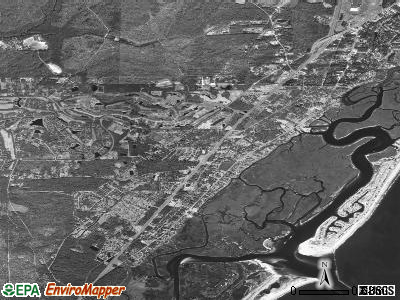 Murrells Inlet satellite photo by USGS