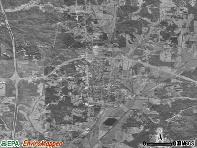 Winona satellite photo by USGS