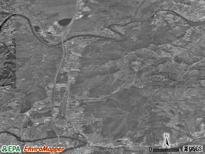 Roseburg North satellite photo by USGS