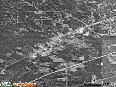 Fairburn satellite photo by USGS