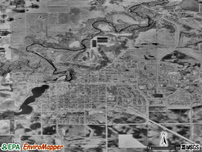 Creve Coeur satellite photo by USGS