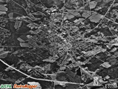 Eastman satellite photo by USGS