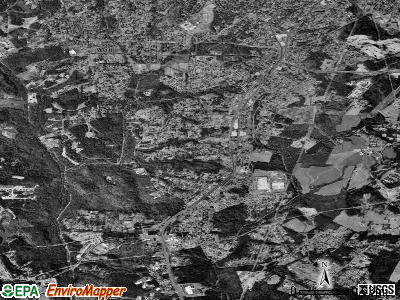 South Gastonia satellite photo by USGS
