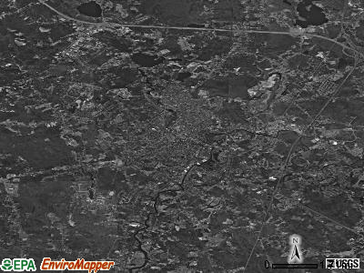 Taunton satellite photo by USGS