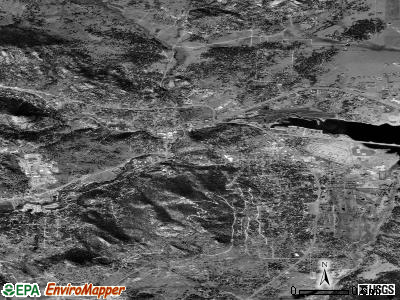 Estes Park satellite photo by USGS