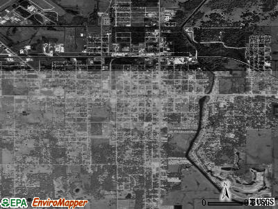 Okeechobee satellite photo by USGS