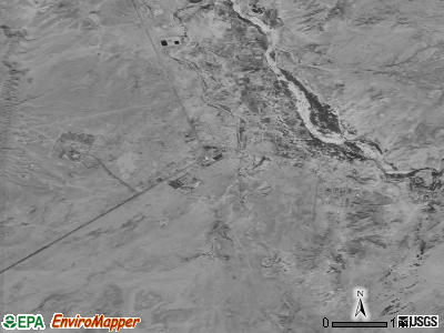Chinle satellite photo by USGS
