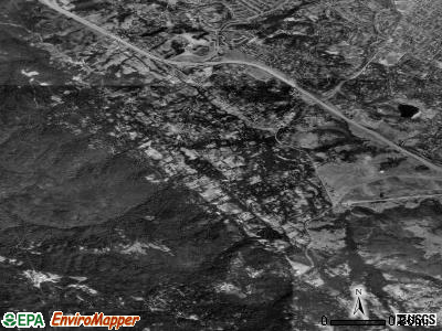Woodside satellite photo by USGS