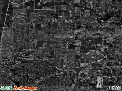 North Richland Hills satellite photo by USGS