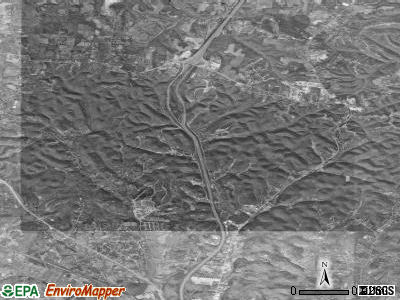 Millersville satellite photo by USGS