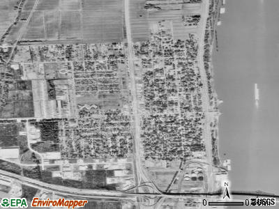 Port Allen satellite photo by USGS