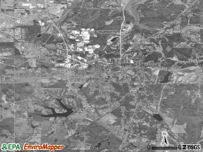 Pontotoc satellite photo by USGS